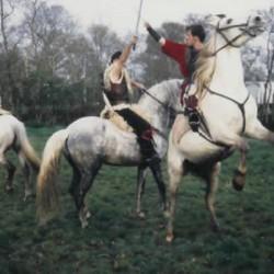 Combat a cheval