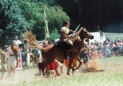 Les Celtes - Spectacle équestre Aventure au galop