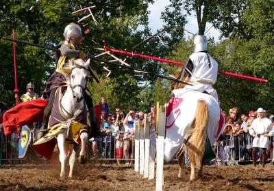 Le tournoi de chevalerie - Spectacle équestre Aventure au galop