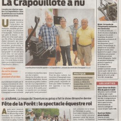 Article Presse Océan 23 juillet 2015