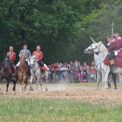 Chouans contre hussards de la république