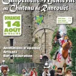 Tournoi de chevalerie aux médiévales de Ranrouët - Spectacle équestre Aventure au galop