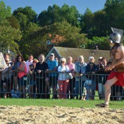 Combat de gladiateurs Spectacle équestre Quiberville D70_1803