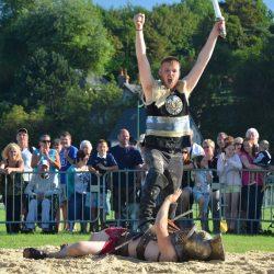 Combat de gladiateurs Spectacle équestre Quiberville D70_1807